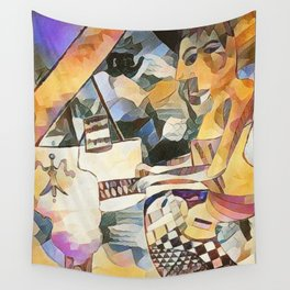 Piano and Voice Wall Tapestry
