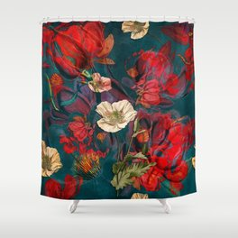 Flowers pattern Shower Curtain