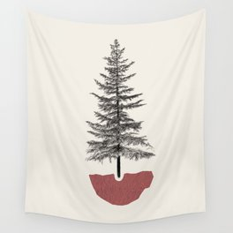 Fir Pine Wall Tapestry