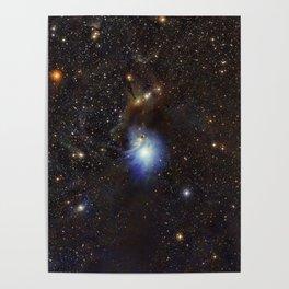Young Star, Reflection Nebula IC 2631 Poster