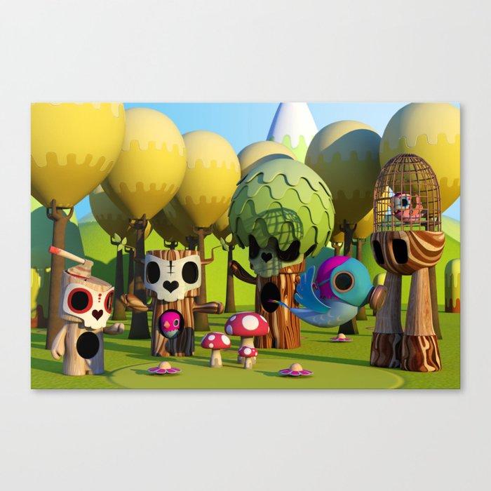 The TreeBorn Gang Canvas Print