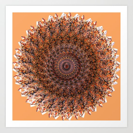 Wheel of Fire Art Print