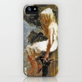 Downcast iPhone Case