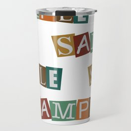 Sample In Color Travel Mug