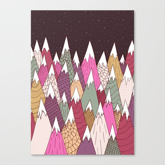 Woodland Warmth Canvas Print