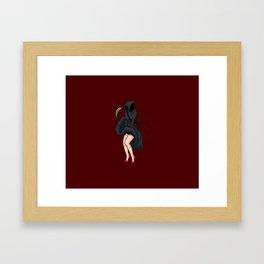 """""""Grim"""" Reaper Framed Art Print"""