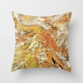 The impossible rocks Throw Pillow