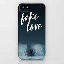 BTS - Fake love iPhone Case