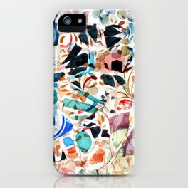 Mosaic of Barcelona VI iPhone Case