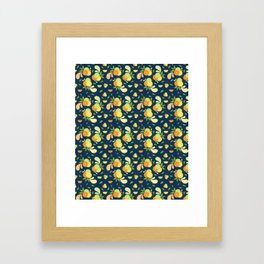 Citrus Splash Framed Art Print