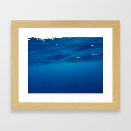 Vitamin SEA Framed Art Print