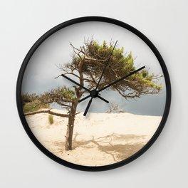 Lone tree Wall Clock
