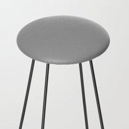 American Silver Counter Stool