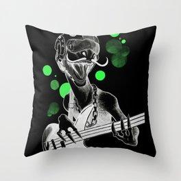 ROCKTOR! Throw Pillow