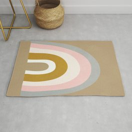 Abstract Rainbow Rug
