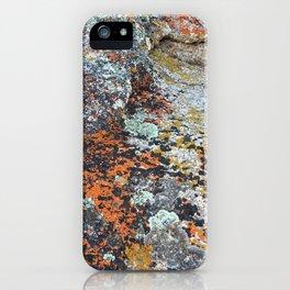Coloured Rocks iPhone Case