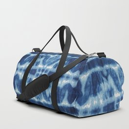 Tie Dye Blues Twos Duffle Bag