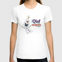 olaf T-shirts featuring Olaf by An Illustrated Dream