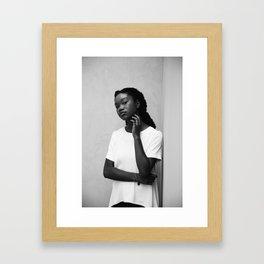 Jayda Framed Art Print