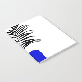 Blue Pot Notebook