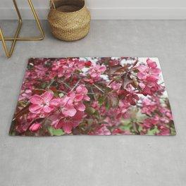 Crabapple Blossoms Rug