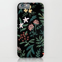 Woodland Floral iPhone Case