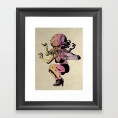 Wife of Cthulhu A.F. Montoy: Colour Framed Art Print