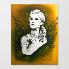 Wings Series Four (Angel)  Canvas Print
