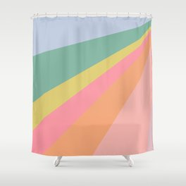 Sweet Rainbow Road Shower Curtain