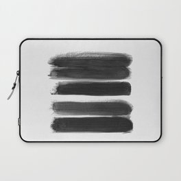 Stripes - No Comment #1 #minimal #painting #decor #art #society6 Laptop Sleeve