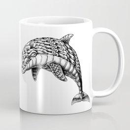 Ornate Dolphin Coffee Mug