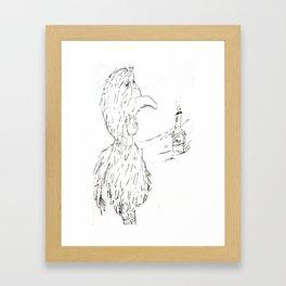 Drunken Bird Framed Art Print