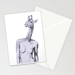 Nudist  Stationery Cards