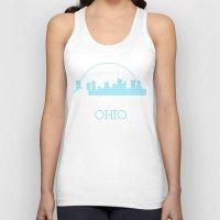 ohio Tank Tops featuring Columbus, Ohio by MattXM85