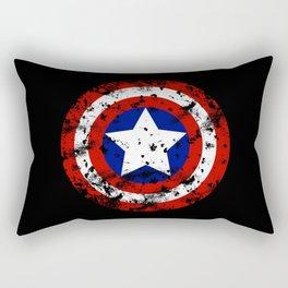Captain's Shield Rectangular Pillow