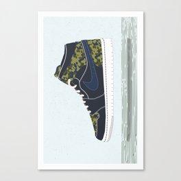 Nike II Canvas Print