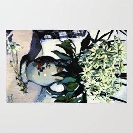 """""""Flannel Flowers"""" by Australin Margaret Preston Rug"""