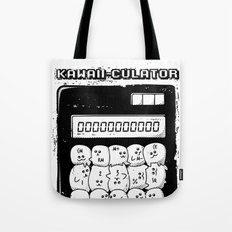 Kawaii Calculator Tote Bag