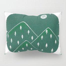 Green Mountains Pillow Sham