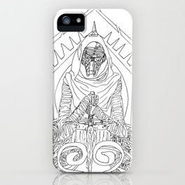 Art Nouveau Kylo Ren iPhone Case