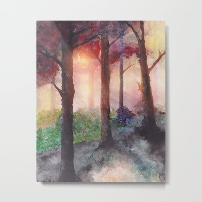 Into The Forest VII Metal Print
