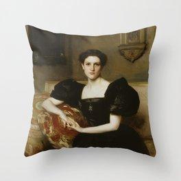 John Singer Sargent - Elizabeth Winthrop Chanler (Mrs. John Jay Chapman) Throw Pillow
