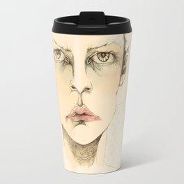 """""""portrait of anybody"""" Travel Mug"""