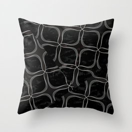 Black Thursday  Throw Pillow