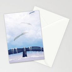 Flying Whale Stationery Cards