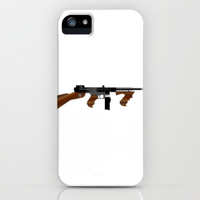 Tommy Gun iPhone Case
