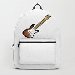 8 bit guitar Backpack