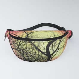 Red Sky At Dawn Fanny Pack