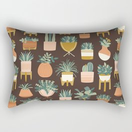 Cacti & Succulents Rectangular Pillow