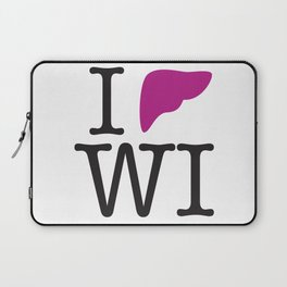 I Liver Wisconsin Laptop Sleeve